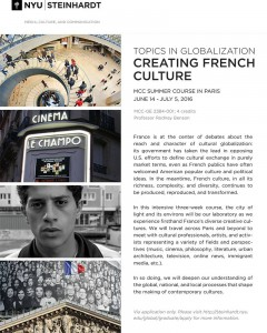 Creating French Culture